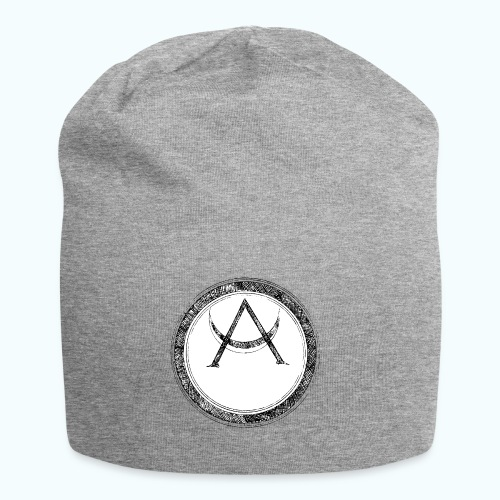 Mystic motif with sun and circle geometric - Jersey Beanie
