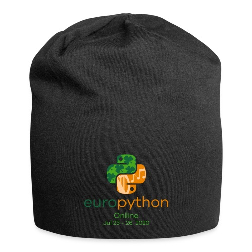 EuroPython 2020 - Vertical Color Logo - Jersey Beanie