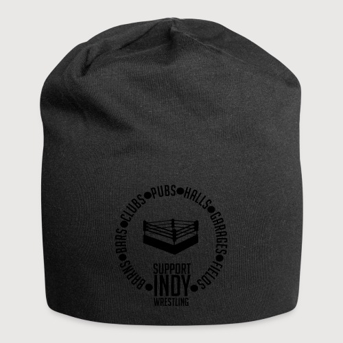 Support Indy Wrestling Anywhere - Jersey Beanie