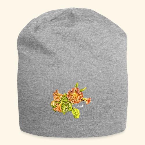 Trompetenbaum Blüten von S.A.R.A. - Jersey-Beanie