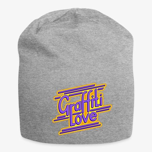 graffiti love type1 blueviolet - Jersey-Beanie