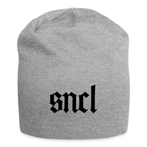 SNCL Retro Schwarz - Jersey-Beanie
