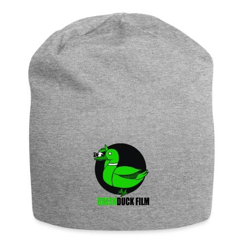 Greenduck Film Logo w. black letters - Jersey-Beanie