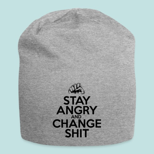 Stay Angry - Jersey Beanie