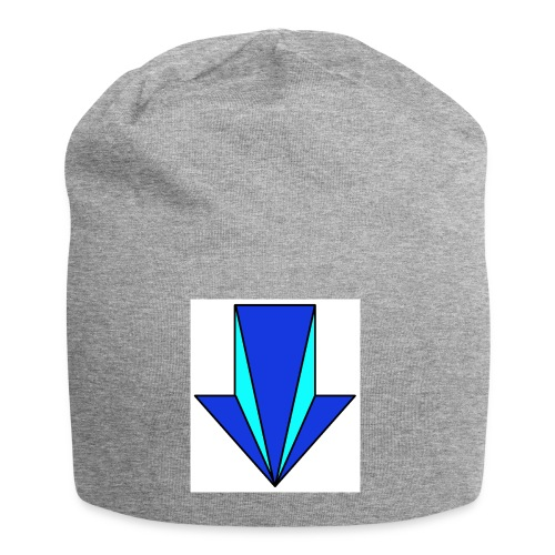 flecha - Gorro holgado de tela de jersey