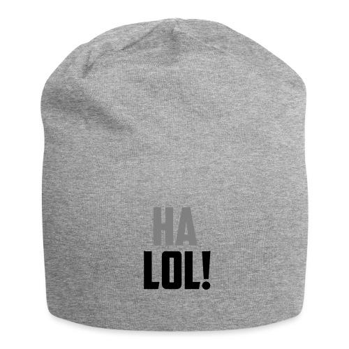 The CrimsonAura 'Ha LOL!' Stream Quote. - Jersey Beanie