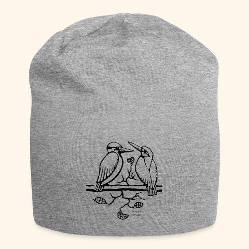Eisvogel Liebe - Jersey-Beanie