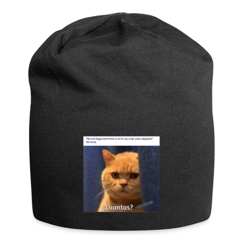Cat nalgadas - Gorro holgado de tela de jersey