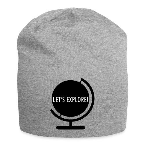 LET'S EXPLORE! black - Jersey-Beanie