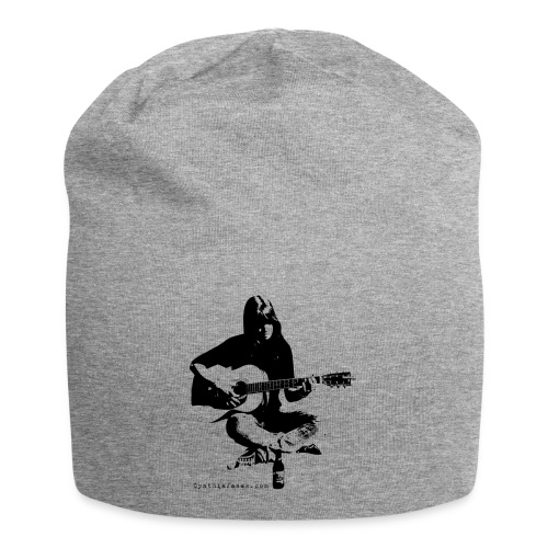 Cynthia Janes guitar BLACK - Jersey Beanie