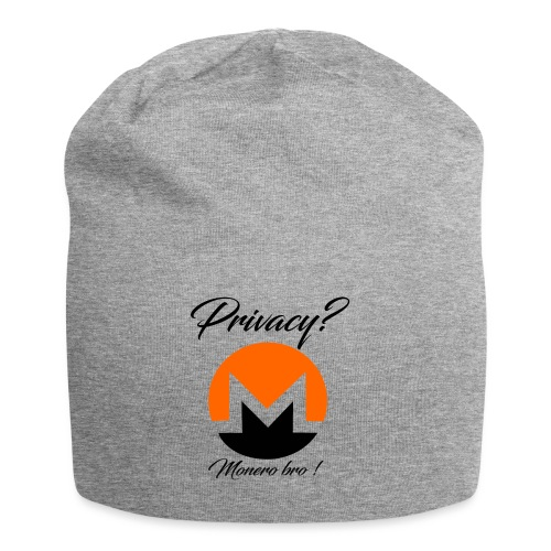 Moneroooo - Bonnet en jersey