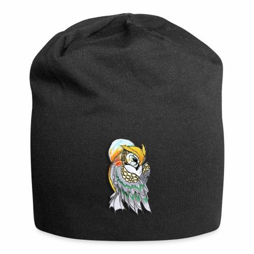 Cosmic owl - Gorro holgado de tela de jersey