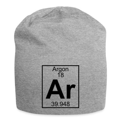 Argon (Ar) (element 18) - Jersey Beanie