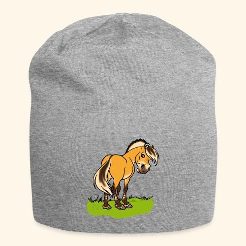 Freundliches Fjordpferd (Ohne Text) - Bonnet en jersey