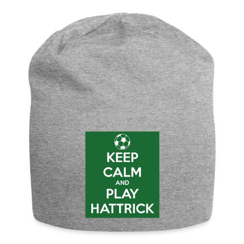 keep calm and play hattrick - Beanie in jersey