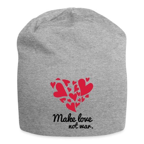 Make Love Not War T-Shirt - Jersey Beanie