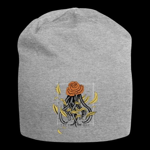 Rose octopus - Bonnet en jersey