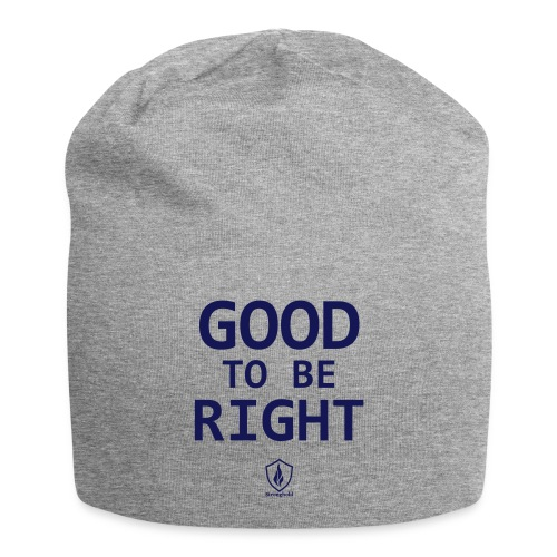 Good to be Right - Jersey-Beanie