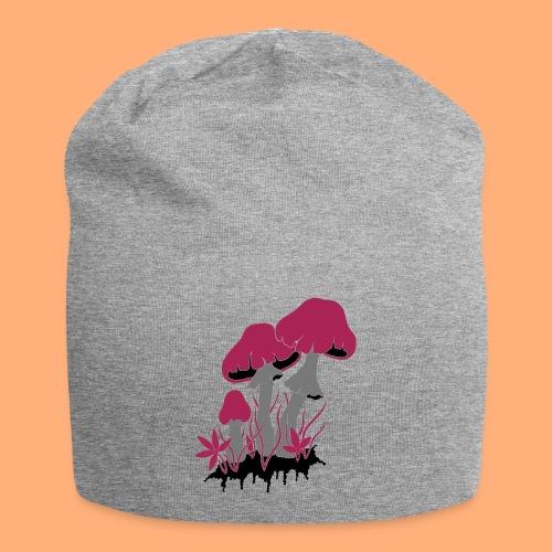 champignons - Bonnet en jersey