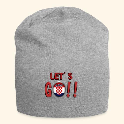 Go Croatia - Beanie in jersey