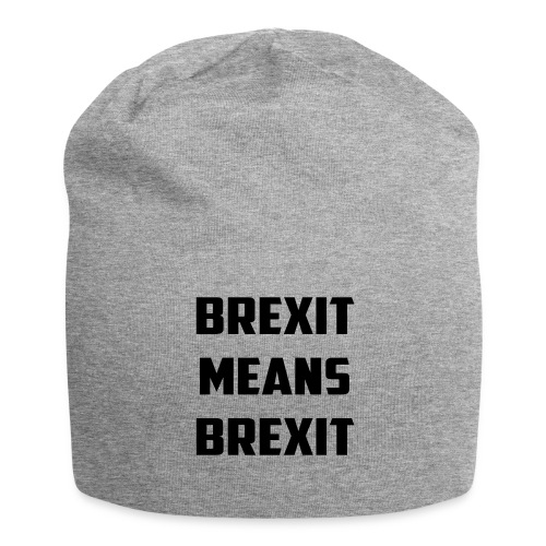Brexit Means Brexit - Jersey Beanie