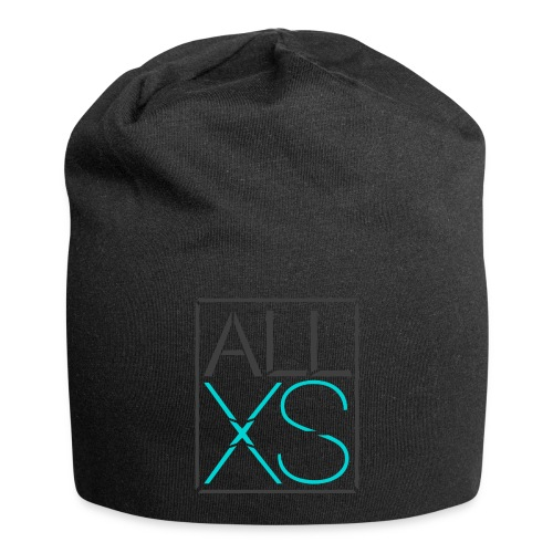Black and Blue basic - Jersey-Beanie