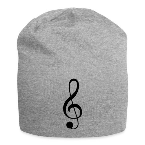 Musik Symbol Musikschlüssel Notenschlüssel - Jersey-Beanie
