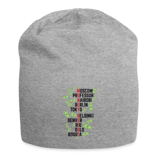 Money Heist Funny Acronim Design - Gorro holgado de tela de jersey