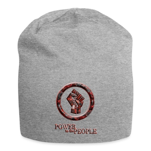 Power to the people - butterfly - Jersey Beanie