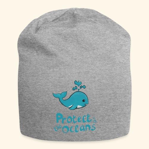Protèges les océans - Bonnet en jersey