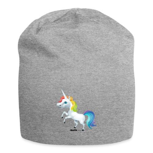 Rainbow enhjørning - Jersey-beanie