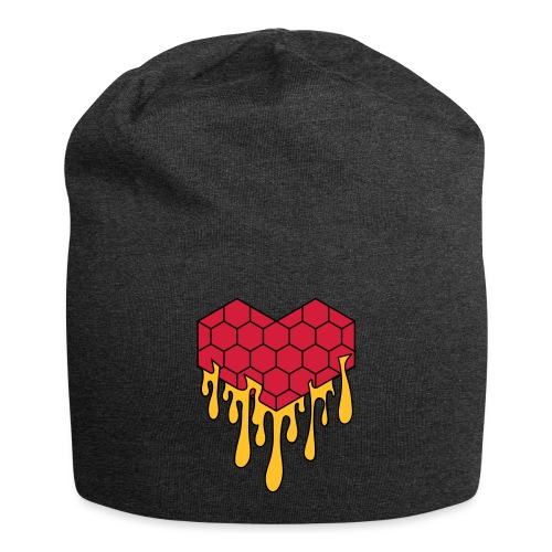 Honey heart cuore miele radeo - Beanie in jersey