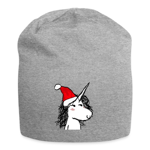 unicorno Natale - Beanie in jersey