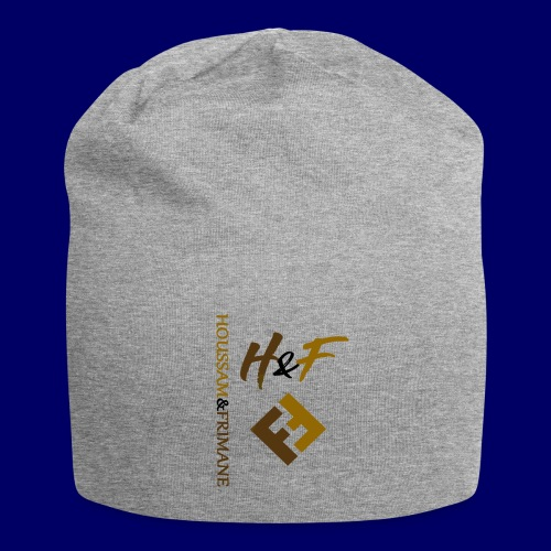 h&F luxury style - Beanie in jersey