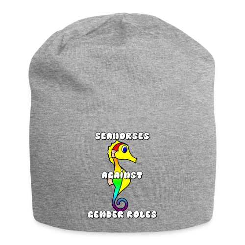 Seahorses against gender roles - Jersey Beanie