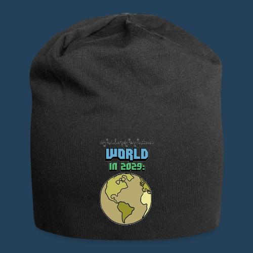 World in 2029 #fridaysforfuture #timetravelcontest - Jersey-Beanie