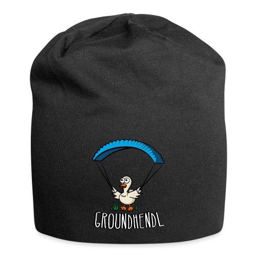 Groundhendl Groundhandling Hendl Paragliding Huhn - Jersey-Beanie