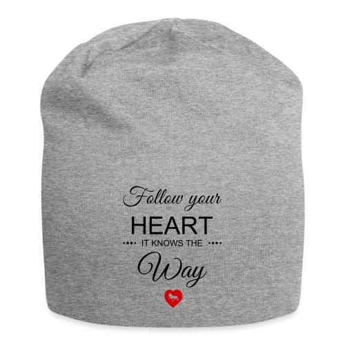 follow your heartbesser - Jersey-Beanie