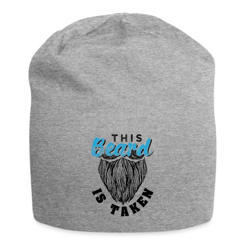 This Beard Is Taken Funny Gift - Jersey-Beanie