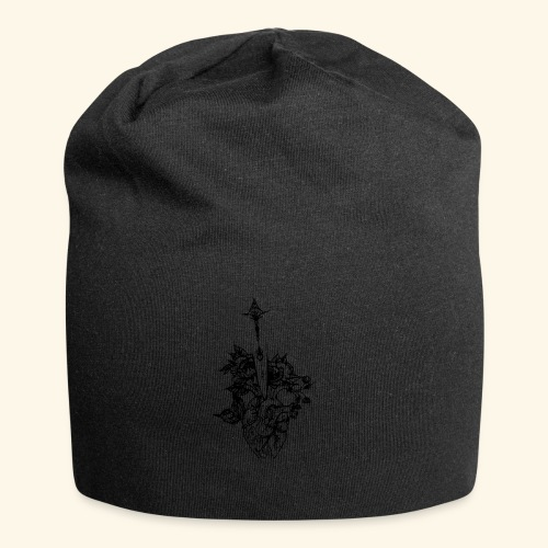 la nature du coeur - Bonnet en jersey