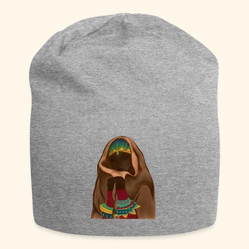 Femme bijou voile - Bonnet en jersey