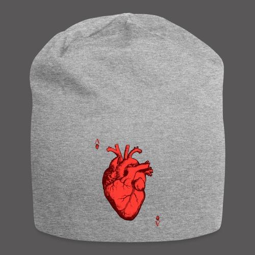 Herz Ass - Jersey-Beanie