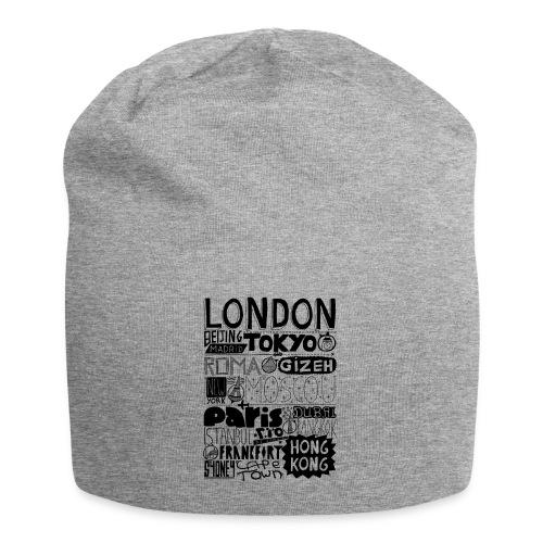 Villes du monde - Bonnet en jersey