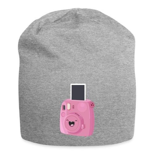 Appareil photo instantané rose - Bonnet en jersey