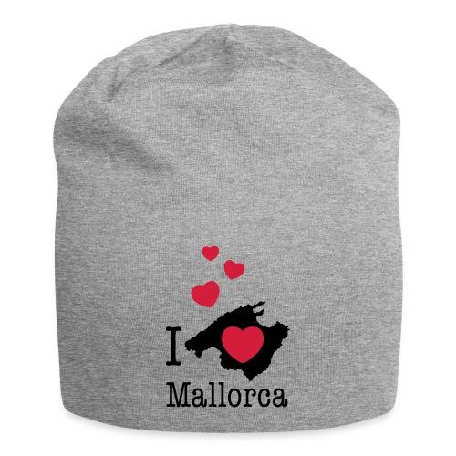 love Mallorca Balearen Spanien Ferieninsel Urlaub - Jersey Beanie