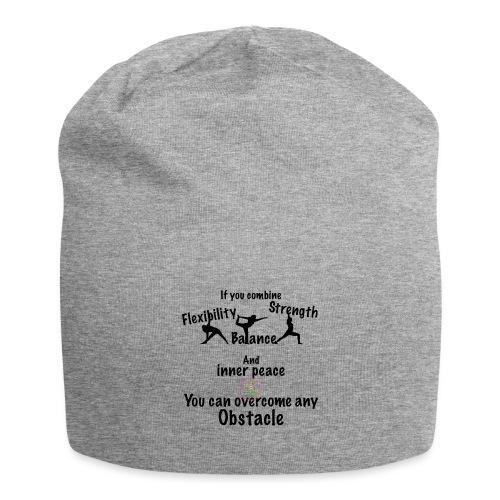 Overcome Obstacle MaitriYoga - Bonnet en jersey