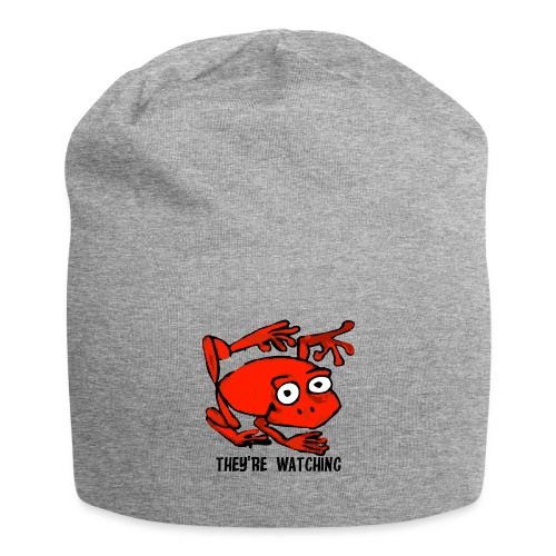 red frog - Beanie in jersey