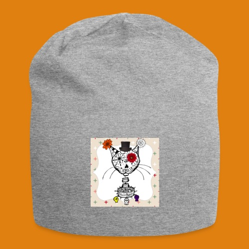 cat color - Jersey Beanie