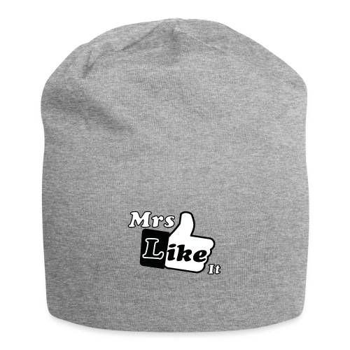 Mrs Like it - shirt (zwart-wit) - Jersey-Beanie