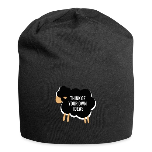 Think of your own idea! - Jersey Beanie